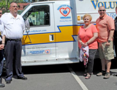 Volunteer Heart Ambulance Dedicates New Ambulance And New Staten Island Base